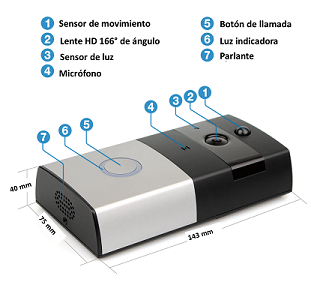 Kit Full DingBell con Mini UPS