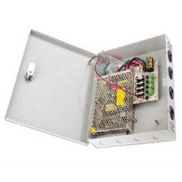 Fuente de Poder CCTV para 4 cámaras 12VDC-4A