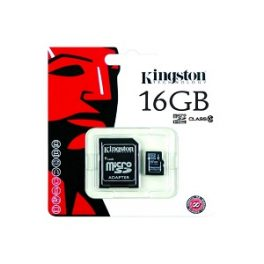 Tarjeta Memoria kingston Micro SD 16GB Clase 10