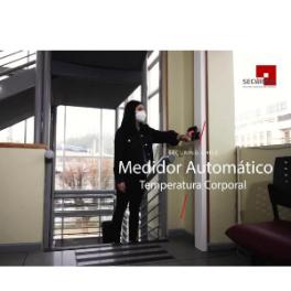 Medidor Automático de Temperatura (Pantalla Digital y Voz)
