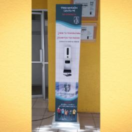 Totem Sanitizador K9 PRO (2 en 1)