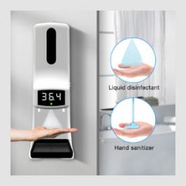 Medidor Inteligente de Temperatura 2 en 1 Modelo K9 PRO