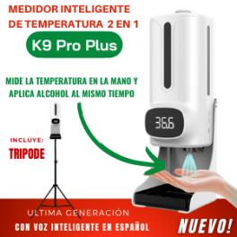 Medidor Inteligente de Temperatura 2 en 1 Modelo K9 Pro Plus Incluye TRÍPODE
