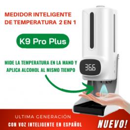 Medidor Inteligente de Temperatura 2 en 1 Modelo K9 Pro Plus