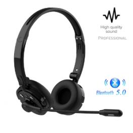 Auricular con Micrófono Manos Libre Bluetooth V5.0 Profesional