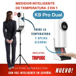 Medidor Inteligente de Temperatura 2 en 1 Modelo K9 Pro Dual Incluye TRÍPODE