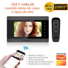 Video Portero Wifi Inteligente Full Hd, Alarma De Movimiento